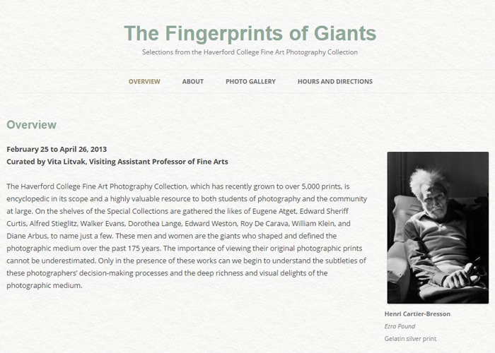 The Fingerprints of Giants Blog
